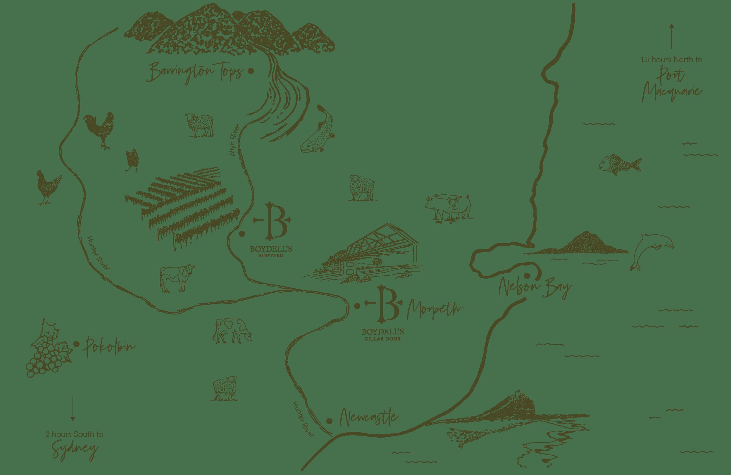 Boydells Map