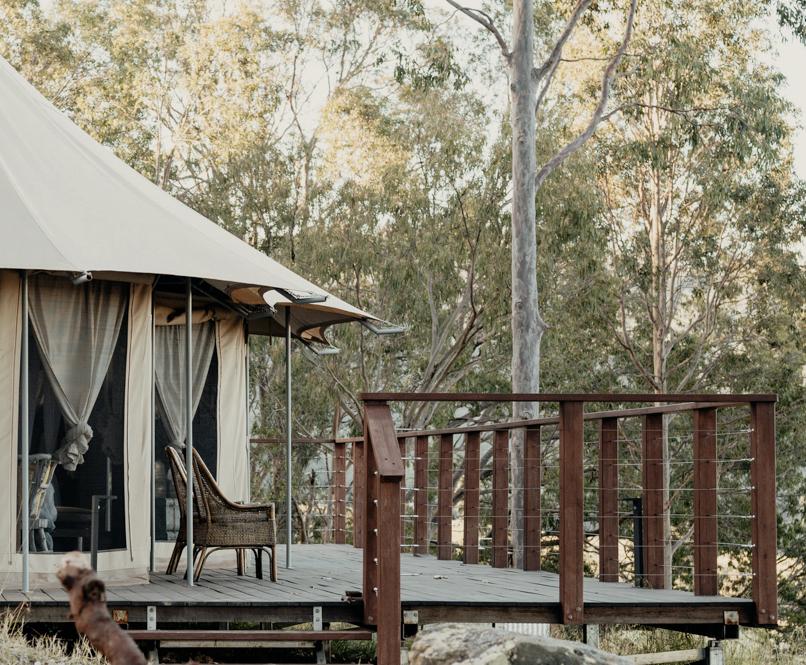 Boydell's Luxury African Safari Tent